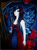 Red rose fairy by carlos0003