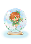 Spring Globe by Archie-The-RedCat