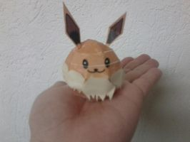 Mini Eevee Papercraft by Icedragon300