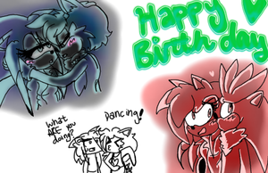 HAPPY FREAKING BIRTHDAY MID by TheChaosSpirit