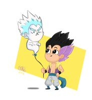 Gotenks by claudiogillet