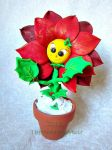 Polly the Poinsettia! by MeadowDelights