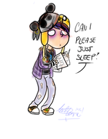 Can I Please Just Sleep? by InvaderSonicMx