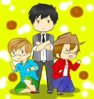 One Cent Trio!! by Ask-America-plus50
