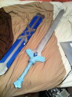 Skyward sword - Goddess sword Complete + sheath by jobiwan
