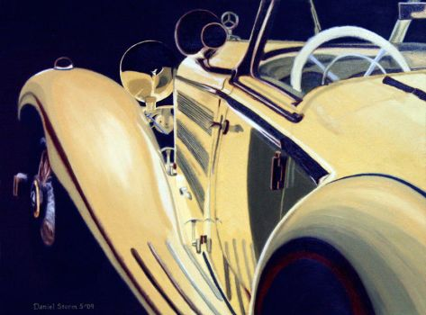 Mercedes Painting II Final by Daniel-Storm