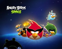 Angry Birds Space Wallpaper by sal9