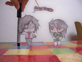 Paper Child - Frerard by xYamiKawaitax