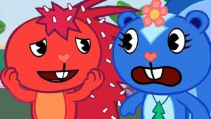 Flaky and Petunia from Feel the Feeling episode by NemaoHTF
