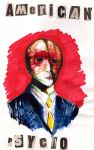 American Psycho Painting by doodie205