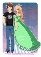 Commission Rosalina x Tracyn4 by CoconCrash