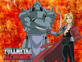 Full Metal Alchemist Wallpaper by Gogenks