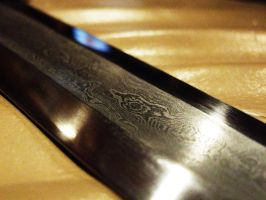 Damascus steel by Wolfie-83