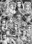 Women of Sandman by WorldsEndFellas-Club
