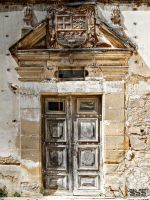 Old Door of the Castle by CharlieMerci