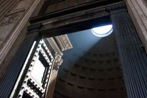 the Pantheon in Rome by ereglin