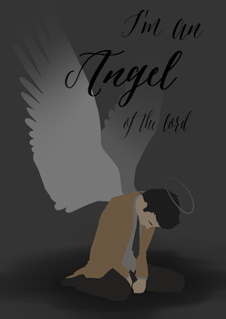 Castiel: Angel of the lord by xMLotx