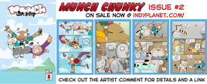 Munch Chunky issue 2 NOW IN PRINT yay by SolomonMars