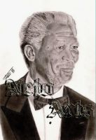 Morgan Freeman by Netoarts