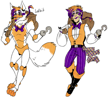 Coloring pages f naf sl coloring pages f naf foxy coloring pages - Lolbit Explore Lolbit On Deviantart
