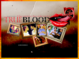 True Blood by KarenUDesign