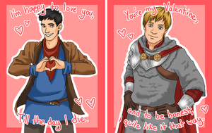 2013 Merthur Valentines by Xinjay