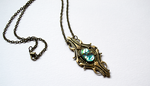Pendant necklace Charybdis by thedancingemu