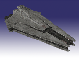 TFU Krome Version: Nar Shaddaa Star Destroyer by NaruHinaFanatic