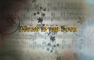 Music is the Soul ver.1 by Calamospondylus