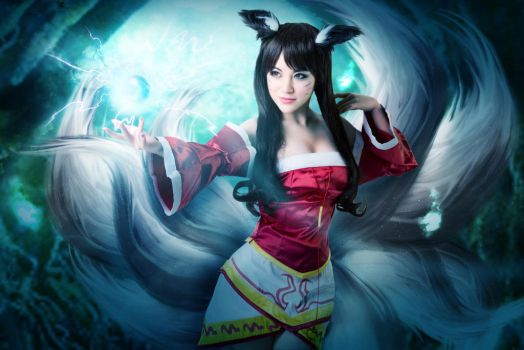 ahri cosplay by Yayababy