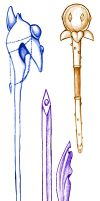 Orchidee Weaponry by Karmillina