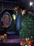 A Puppies Christmas by LaColombeDeDeuil