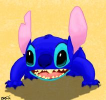 Stitch is Surprised by PolishStitch