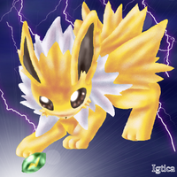 Baby Jolteon for Legend by igtica
