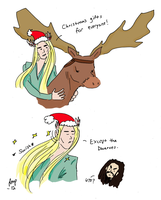 The Hobbit: Christmas with Thranduil by RomaniaBlack