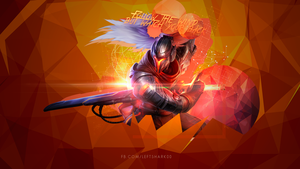 Proyect: Yasuo wallpaper by LeftLucy