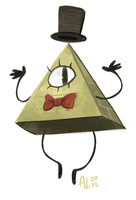bill cipher by alalampone
