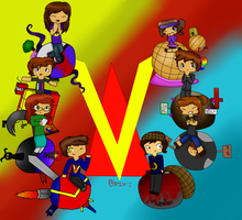 Venturiantale Group Picture by DahPikachuishere