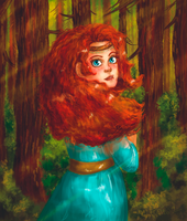 Merida - full by Haneko-san