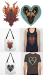 Check Out My New Stuff At Society6 by LiLaiRa
