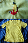 A parrot embroider by Weirda208
