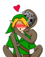 Link ReDead Valentine by Drawing-24-7