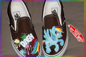 Dash shoes by Picklecheesepie