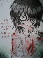 Lets Smile Together [Jeff The Killer] by Tsukiakari-Aya