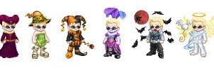 Wesker's Costume Parade by Wesker-Chick