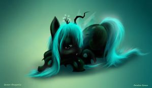 Chrysalis Close Up - MLP by Scarlett-scribble