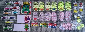 Hype: Sticker Pack #2 by TNH-Ed-Hill