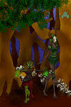 Gnome and Tree Construct by SwirlyXenapus