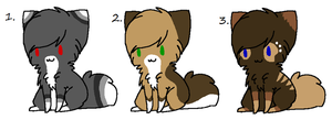 ~Kitten Adoptables~ -CLOSED- by Twine-Adopts