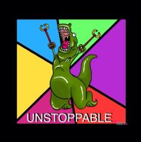 Unstoppable T-Rex by RedeemerBobtail